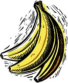A bunch of bananas (thumbnail)