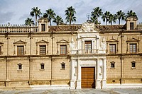 Andalusian Parliament. Former Hospital de las Cinco Llagas. Sevilla, Andalusia, Spain.