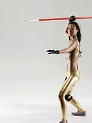 A javelin thrower