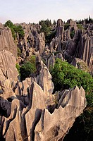 Shilin, the Stone Forest. Yunnan, China
