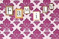 Family in picture frames (thumbnail)