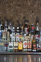 Bottles of alcohol (thumbnail)