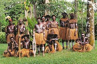 Natives from Timka. Irian Jaya, Indonesia