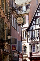 city center of Colmar in France