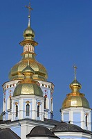 Cathedral of St  Michael, St  Michael Mikhailovskiy Zlatoverhiy monastery, Kiev, Ukraine