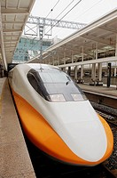 The Taiwan High Speed Rail (THSR) is Taiwan's high-speed rail network, running approximately 335.50 kilometers (208 mi) from Taipei City to Kaohsiung ...