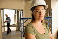 Female in construction industry