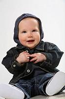 Smiling infant