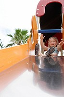 Slide toddler, playground,