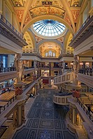 USA, Nevada, Las Vegas, Caesar´s Palace hotel, indoors, forum Shops, shopping center, America, city, player-city, amusement-center, buildings, hotel, ...