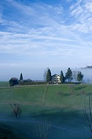 Switzerland, St  Gallen fog-sea,