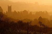 Chipping Campden at sunrise, Gloucestershire, England, UK