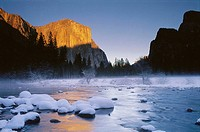 El Capitan and Merced River, Yosemite National Park. California, USA