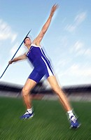 Javelin, thrower, athletics