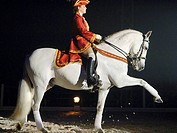 Rider, performing, High, School, Apassionata, Horses´, Gala, Night