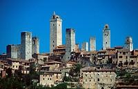 San, Gimignano, Tuscany, Italy,