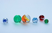 Marbles, toy, cut, out, object,