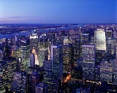 MIDTOWN SKYLINE. MANHATTAN. NEW YORK. USA
