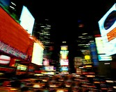 TIMES SQUARE. MIDTOWN MANHATTAN. NEW YORK. USA