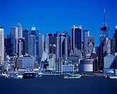 MIDTOWN SKYLINE. MANHATTAN NEW YORK. USA