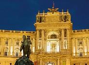 Austria, Vienna, Hafburg Palace