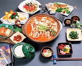 HaemultangSpicy Seafood Soup,Korean Food