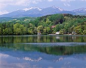 Matsubara lake, plateau, koumi, Nagano, Japan