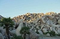 View of giant rocks