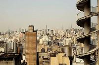 Copan building, by Oscar Niemeyer. Sao Paulo, Brazil.