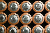 Batteries in a row