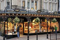 UK, England, North Yorkshire, Harrogate, Parliament Street, Bettys The Cafe, bread, pastry, tea, sweets, bakery,