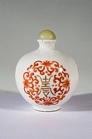Porcelain snuff bottle Qing Dynasty