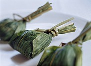 Bamboo rice cake from Niigata Japan Dumpling Speciality Country Cuisine Japanese Cuisine