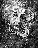 Albert Einstein 1879_1955, German_born physicist. Famous for his theories of relativity, Einstein has become a cultural icon, his name synonymous with...