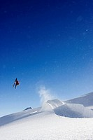 Skier in mid_air