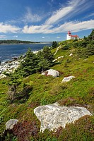 Port Bickerton Light House Nova Scotia, Canada.