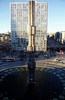 Sweden, Stockholm _ High Angle view of Sergels Torg