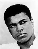 World heavyweight boxing champion Muhammad Ali born 1942 in 1967. Photographed by Ira Rosenberg.