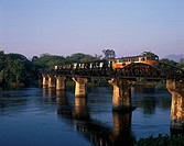 River Kwai river Steel bridge Train Kanchanaburi Thailand Train Track Traffic Vehicle, Transportation Vehicle, Transportation
