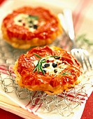 Tomato and goat cheese tatin tart (thumbnail)