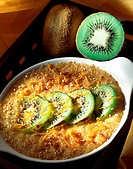 Kiwi fruit gratin
