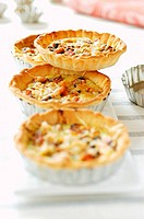individual mussel tarts