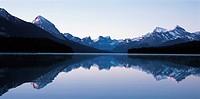 Maligne River,Jasper National Park,Alberta,Canada