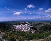 Casares, Costa del Sol, Spain, mountain, city view, April