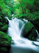 Waterfalls,Mt. Gariwangsan,Gangwon,Korea