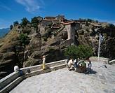 Moni Megalon Meteoron monastery Meteora Greece