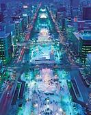 Sapporo Snow Festival,Sapporo,Hokkaido,Japan