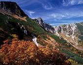 Autumn Spacious curl Hokendake Komagane The central Alps and Nagano Japan