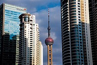 Oriental Pearl Tower,Shanghai,China