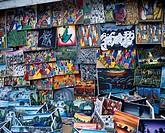 Craft market Ocho Rios Jamaica Painting